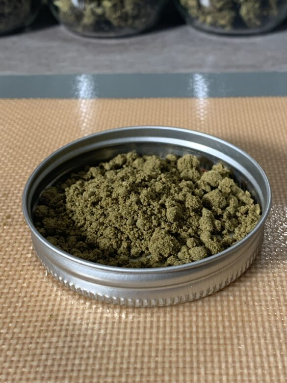 cooking with kief