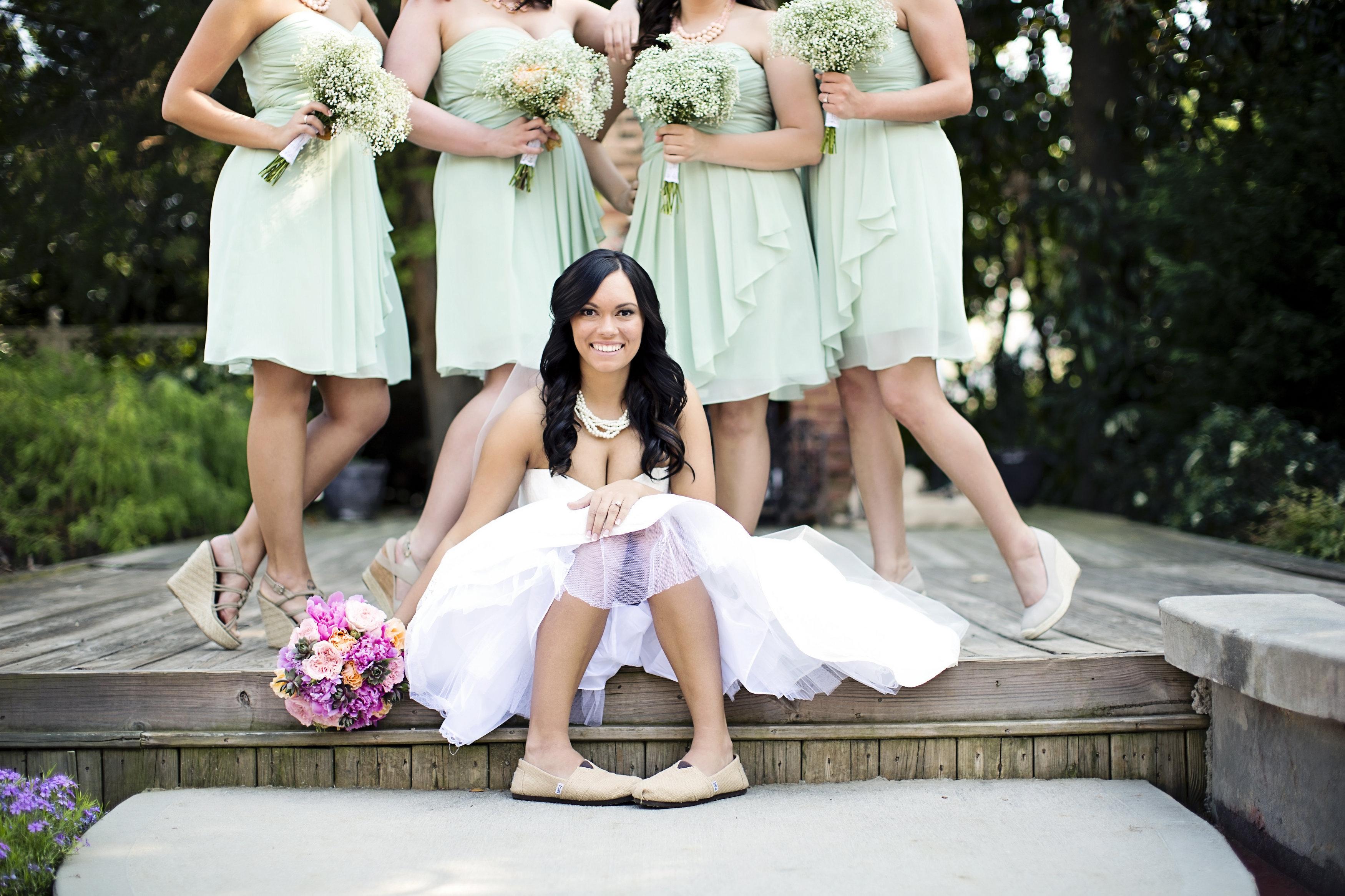 Shabby Chic Outdoor Wedding