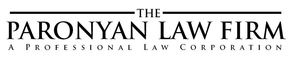 The Paronyan Law Firm Logo