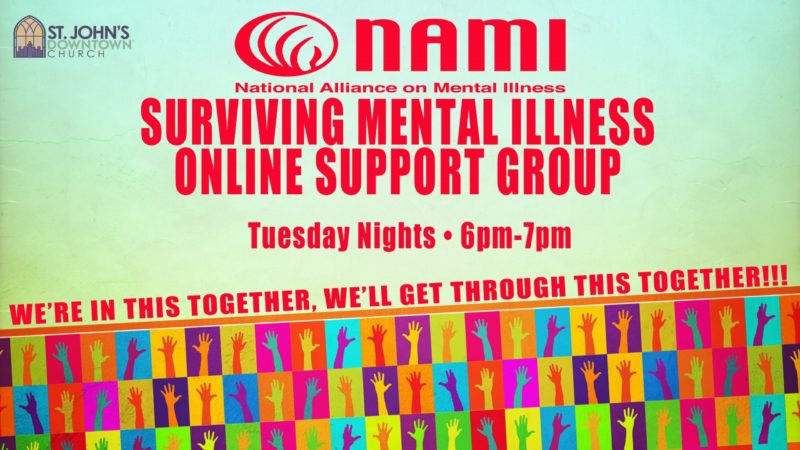NAMI Greater Houston Online Family Support Group - Downtown