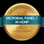 Microbial Panel 1 in Hemp Emerald Test Medallion