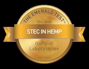 STEC In HEMP medallion