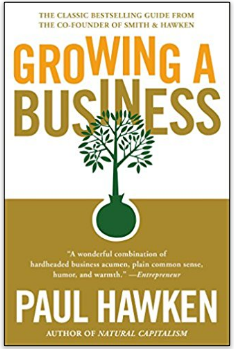 Growing A Business front cover of book