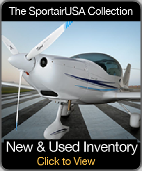 Photo with link to the SportairUSA Collection of new and used aircraft inventory.