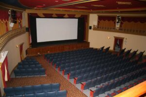 interior of main auditorium