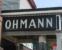 outside marquee from 2005