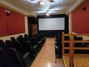 view of ohmann second theatre