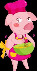 Pink Piggy Sweets