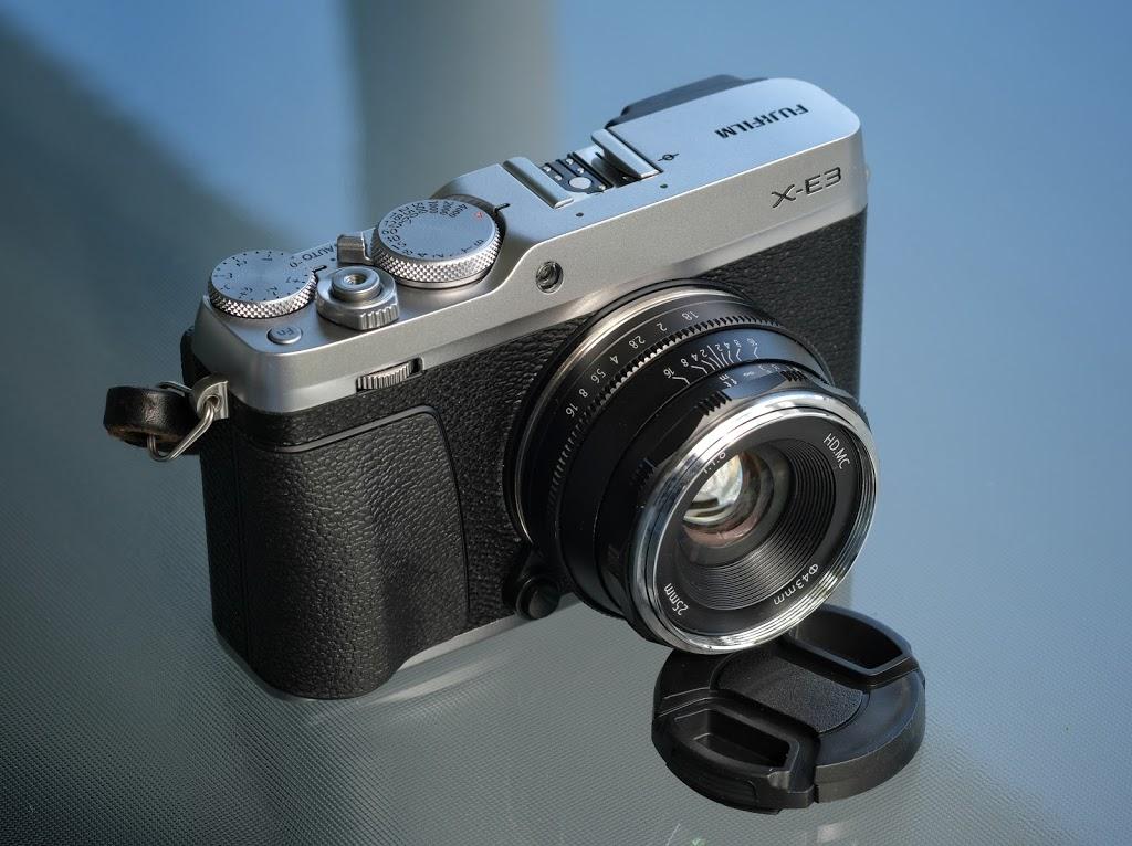 Pergear 25mm f1.8 for Fujifilm Fuji X Mount Review