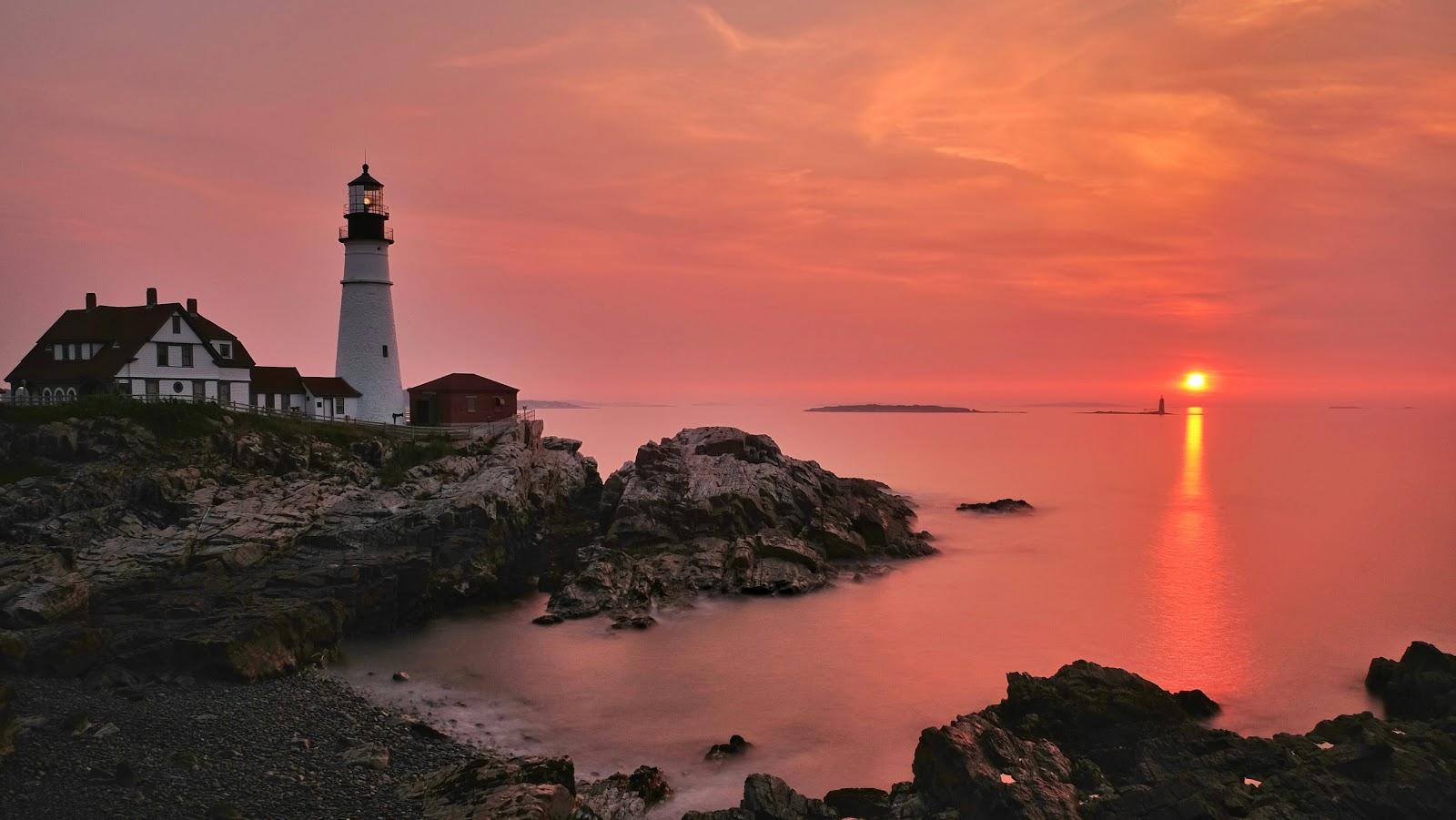 Portland Head Lighthouse Sunrise