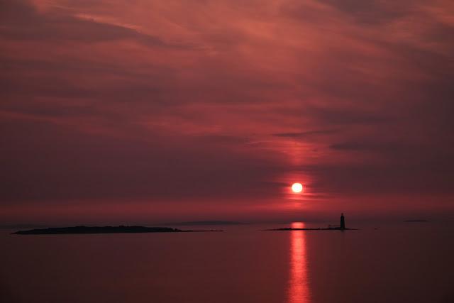 Sunrise Cape Elizabeth Maine Fujifilm X-T1