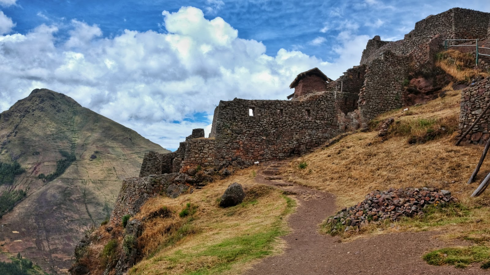Ruins at Pisac, personal highlight of the day.