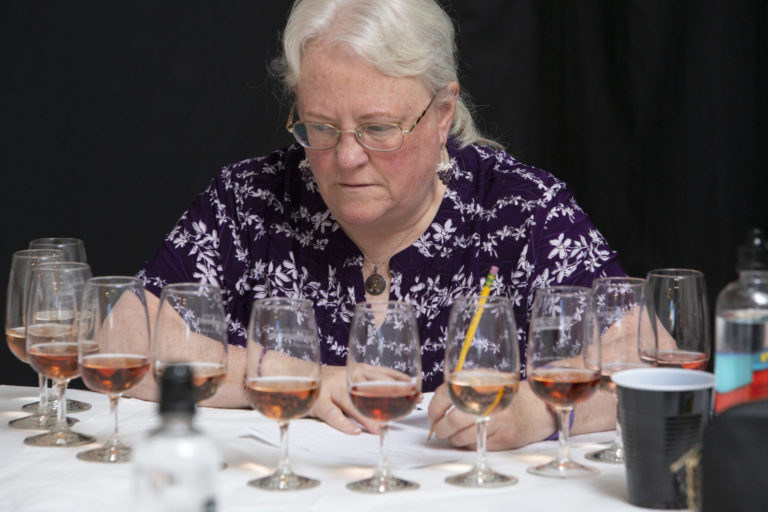 testing the wine competition