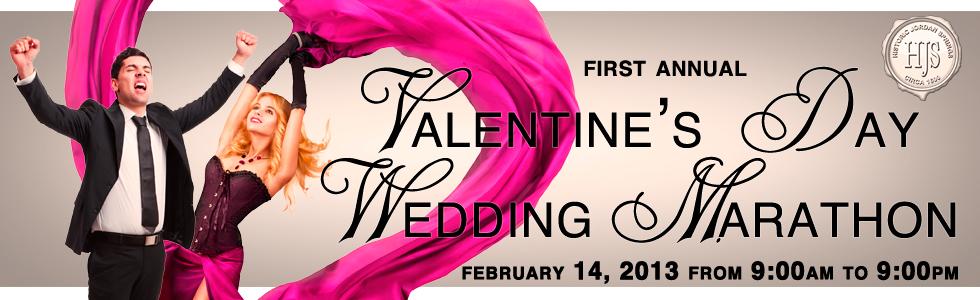 Valentines Day Wedding Marathon