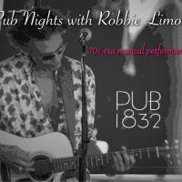 Pub Nights with Robbie Limon at Pub 1832