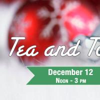 CHRISTMAS TEA AND TOUR 2013