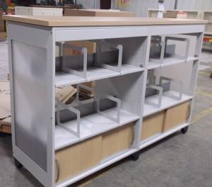 McAuthor Custom Library Cart