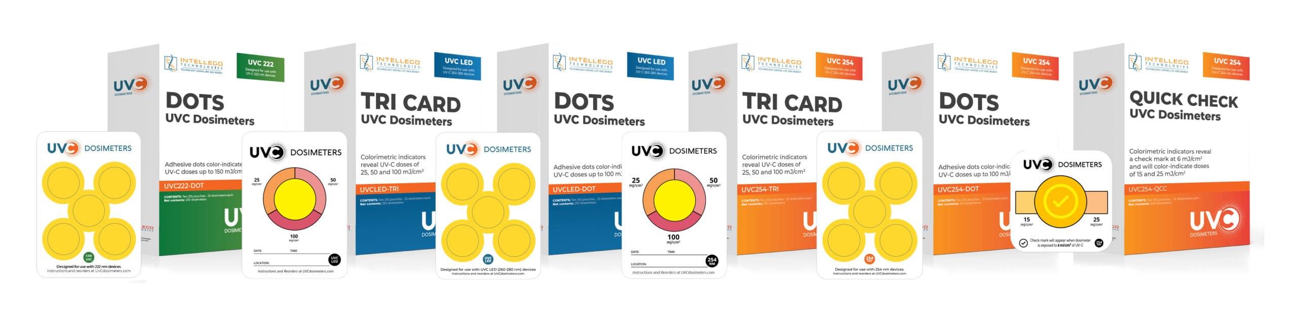 UVC Dosimeters from Intellego Technologies