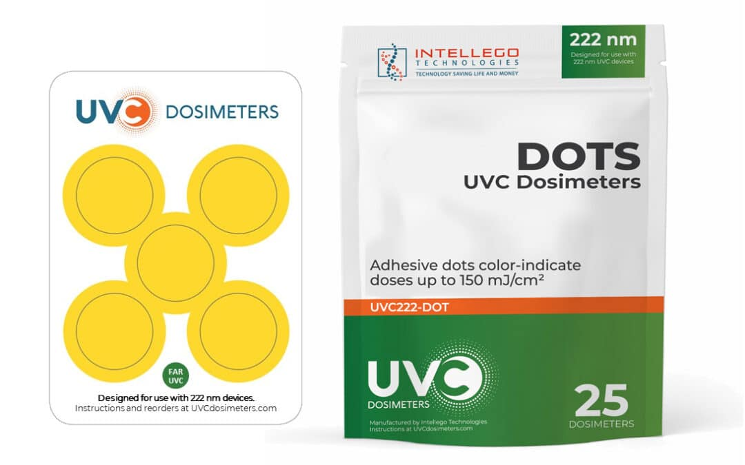 Intellego Launches the World's First UVC Dosimeter for Far UV-C (222 nm) Devices