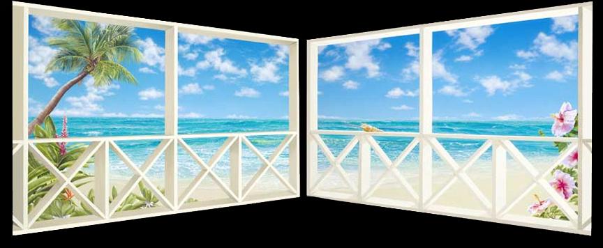 "<b>""At the Beach""</b><br> Giclée (diptych) 40x48"""