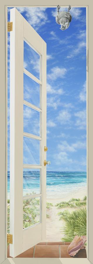 "<b>""Path to the Sea""</b><br> Giclée 17x42"", 25x60"""