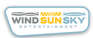 wind sun sky logo