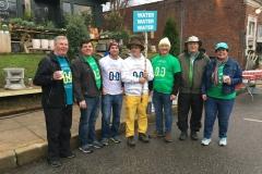 Marathon-volunteers