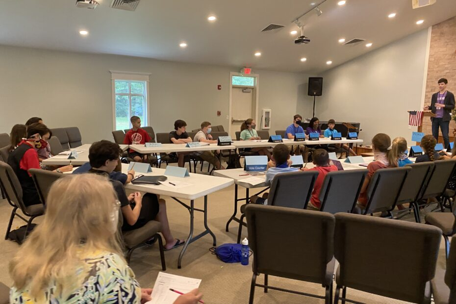 Jr. Toastmasters is held at Learn Together Lowcountry, a homeschool co-op in Bluffton, SC
