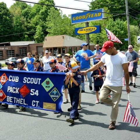 Bethel Cub Scouts Parade