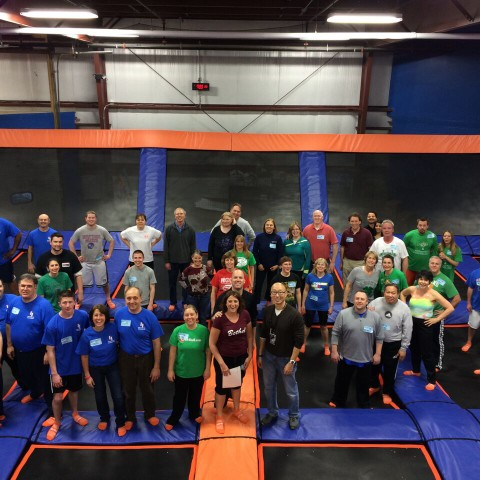 Bethel Chamber Event at SkyZone