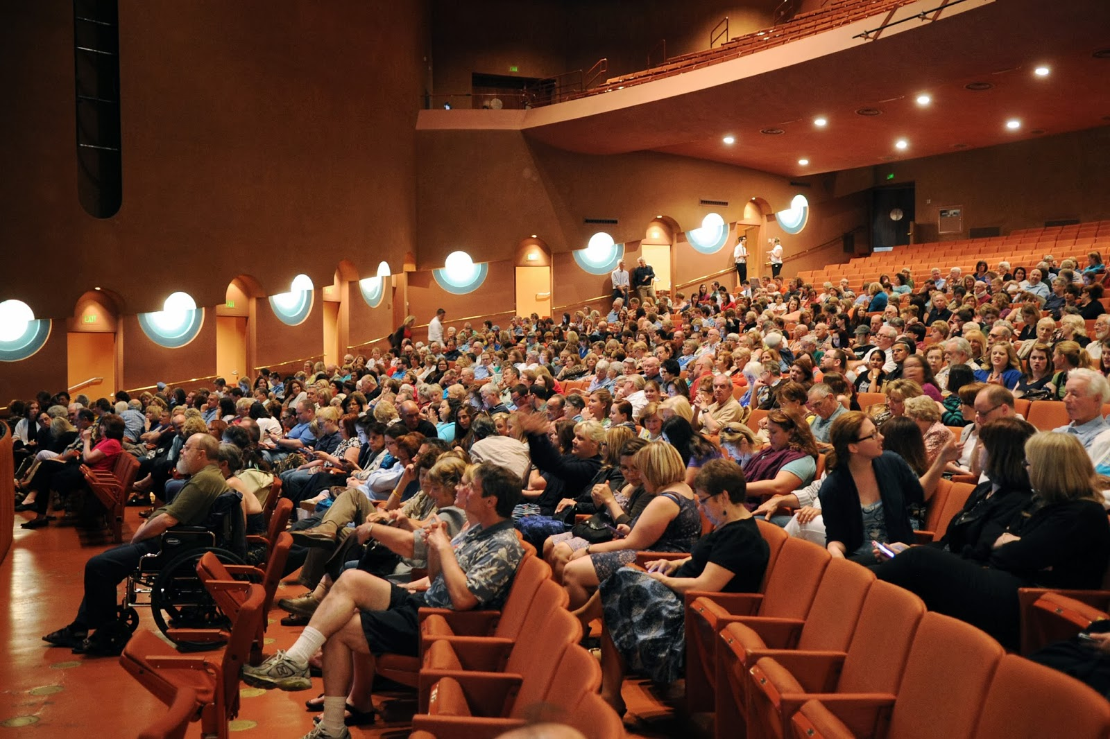 The ASU Beyond series makes use of Gammage Auditorium and other venues on and off campus.