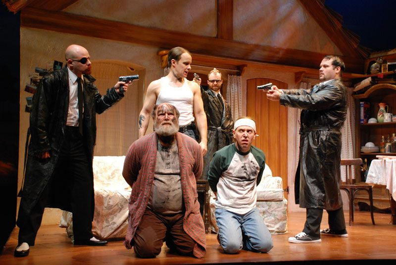 """Among the stars of """"The Lieutenant of Inishmore"""" are Beau Heckman, David Vining, Oliver Wadsworth, Colin McFadden and Tim Shawver."""
