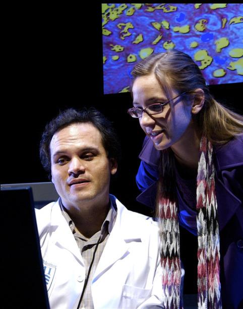 Actors Theatre 2010 Secret Order. Cale Epps, Jessica Weaver. Photo by John Groseclose.