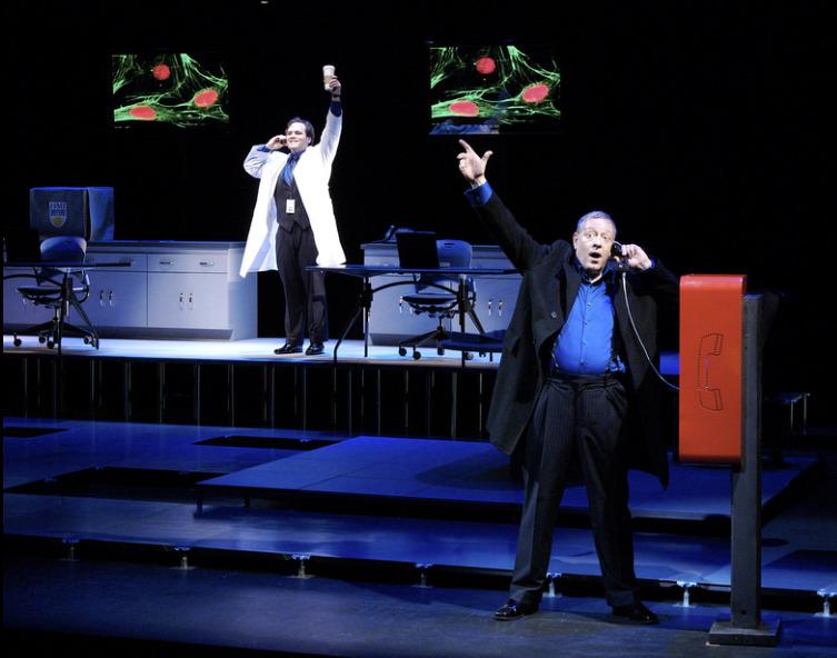 Actors Theatre 2010 Secret Order. Cale Epps, Mark DeMichele. Photo by John Groseclose.