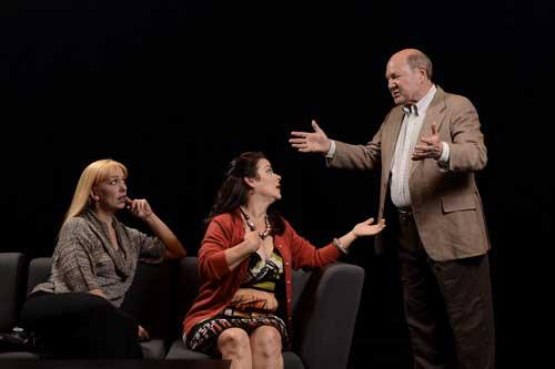 Actors Theatre 2011 'Next Fall' Andi Watson, Debra K. Stevens, David Vining. Photo by John Groseclose.