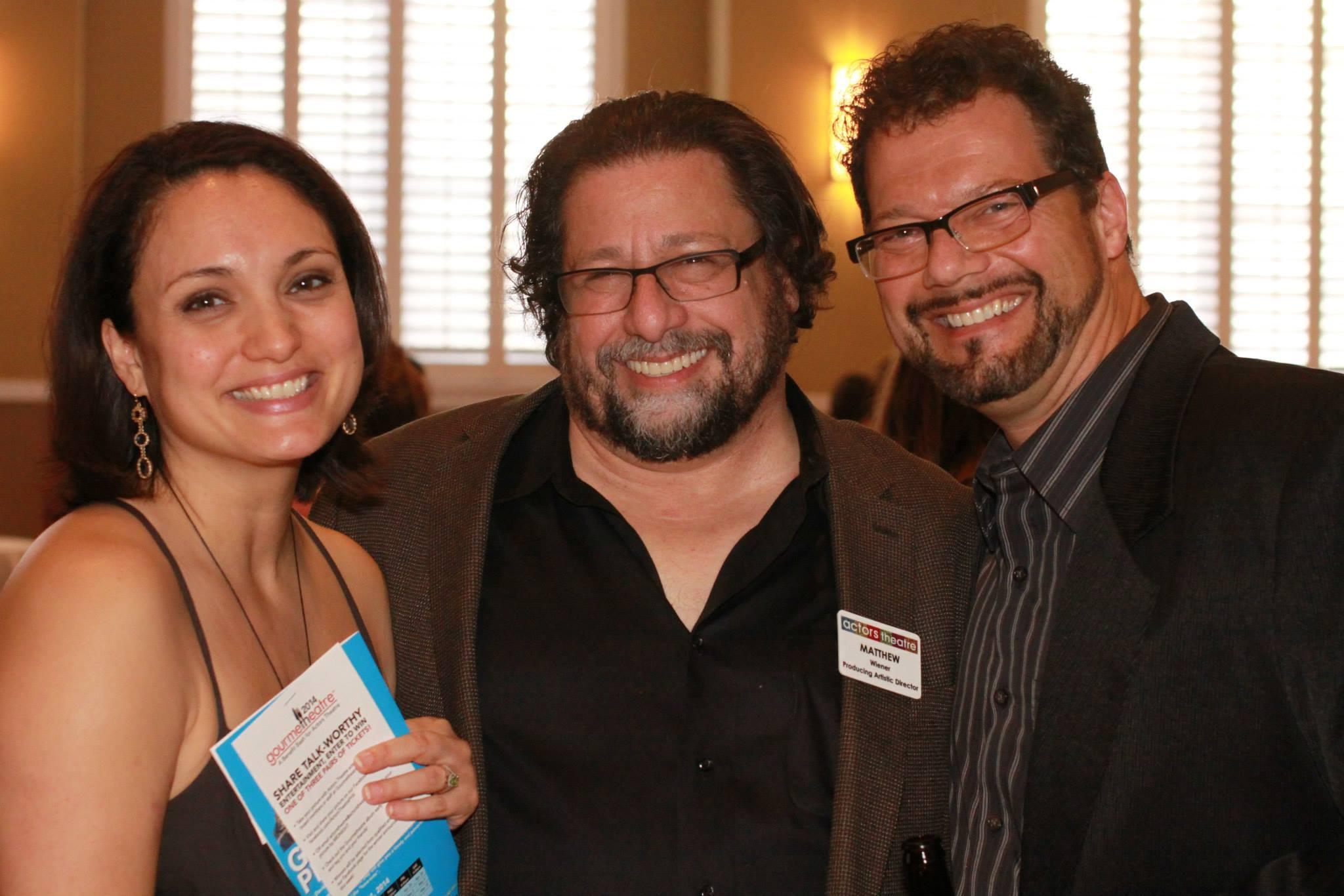 Angelica Howland, Matthew Wiener, Gene Ganssle (Photo by Actors Theatre)