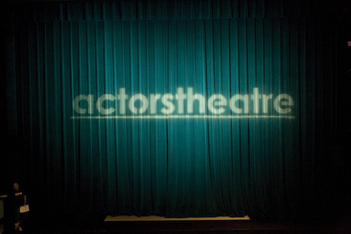 The curtain falls on Actors Theatre. (Photo from the Facebook page of Christian Miller.)