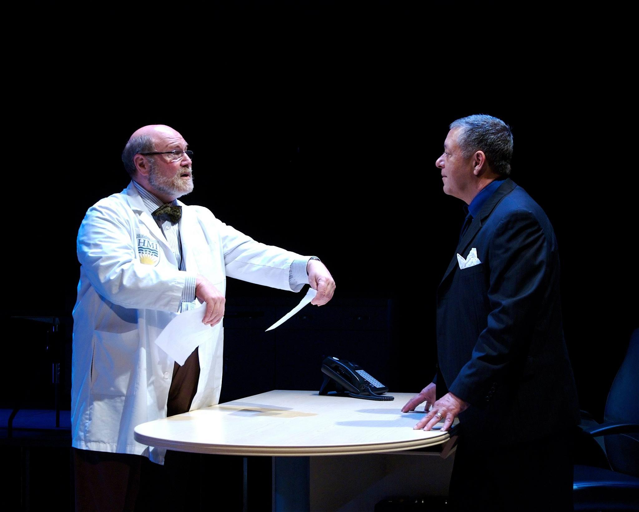 Actors Theatre. 2010. Secret Order. David Vining, Mark DeMichele. Photo by John Groseclose.