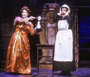 "R. Hamilton Wright and Bob Sorenson in ""The Mystery of Irma Vepp,"" for Arizona Theatre Company. (Photo, Tim Fuller)"