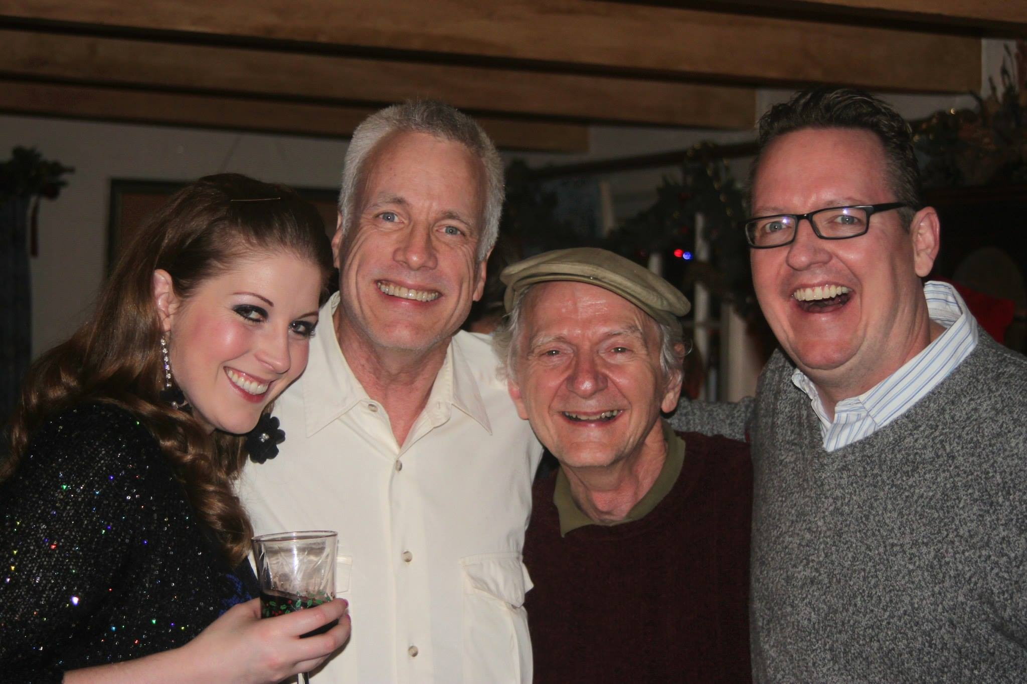 Carolyn Pain's 2013 Christmas party attracted Caroline Wagner, Craig Bohmler, Mike Lawler and D. Scott Withers.