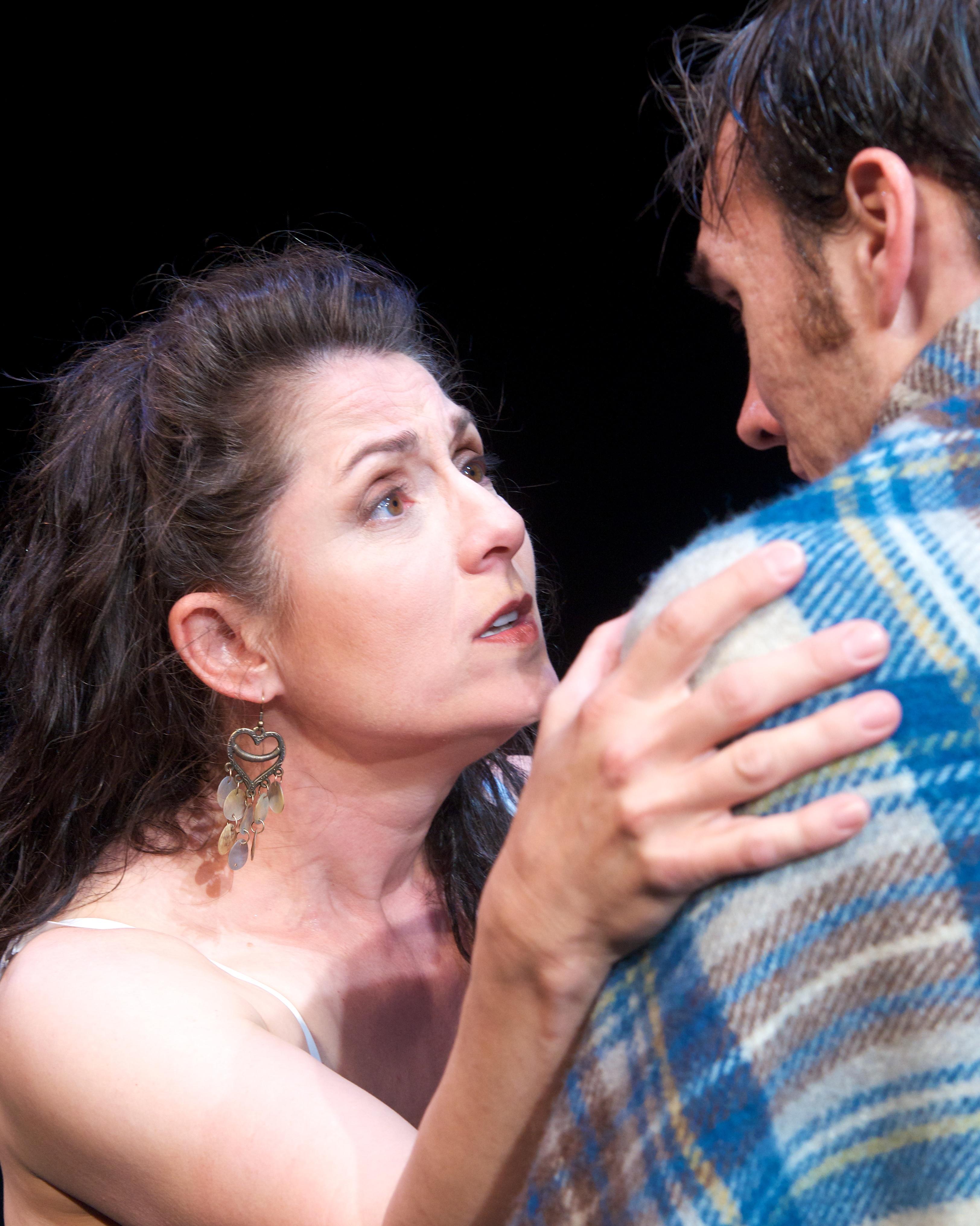 "Maria in ""Body Awareness"" at Actors Theatre."