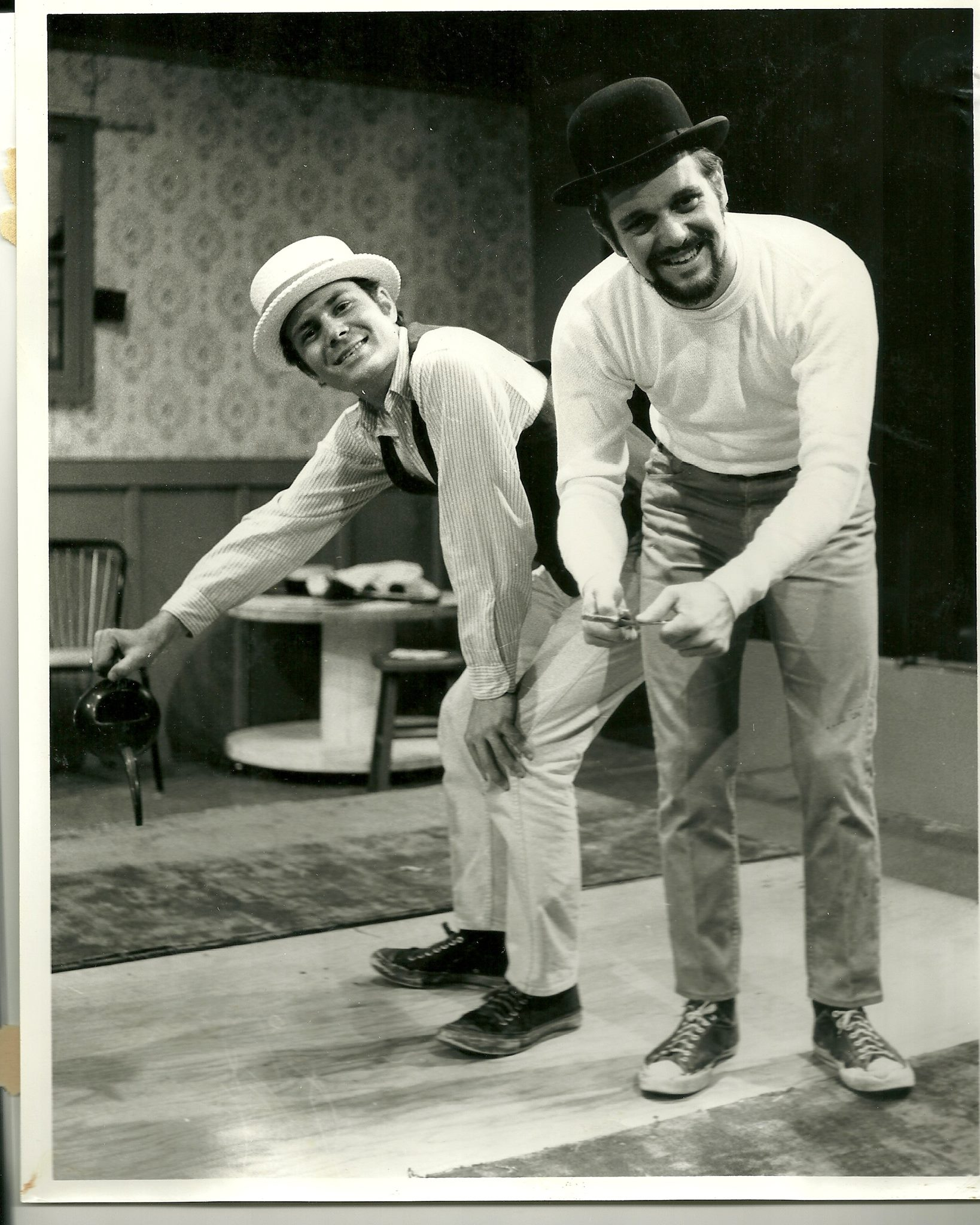 Harold Dixon and David Vining perform in an unknown show a few years later.