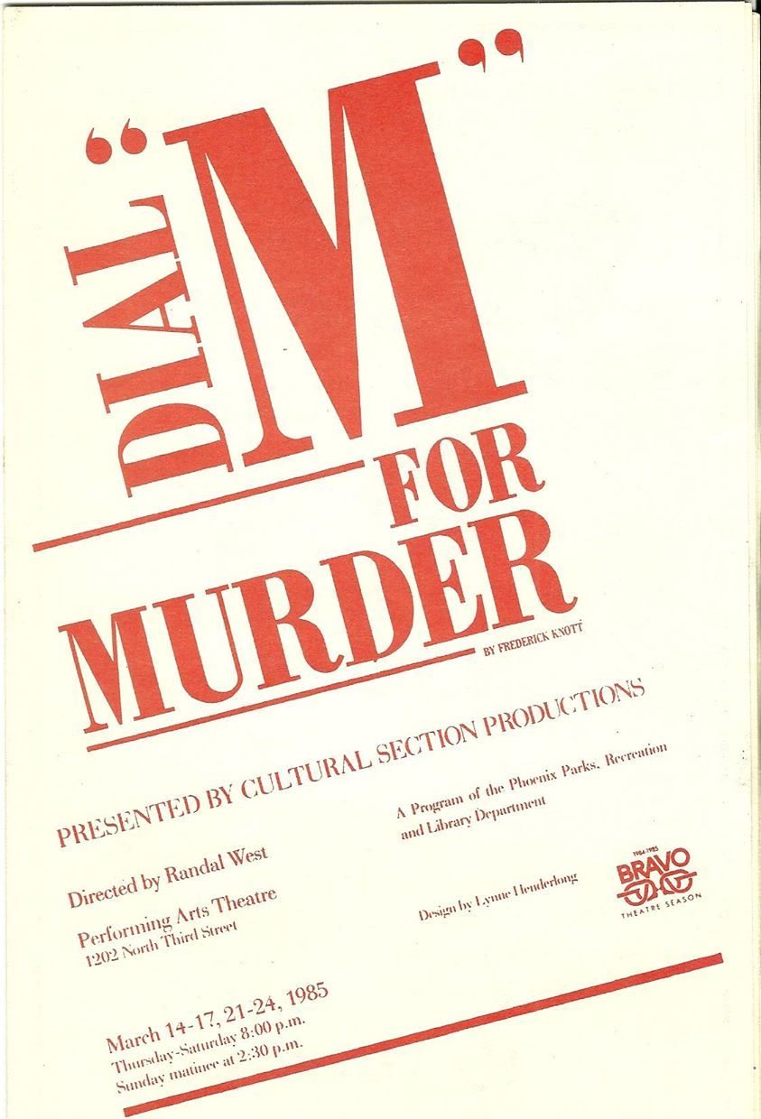 Dial M for Murder, 003