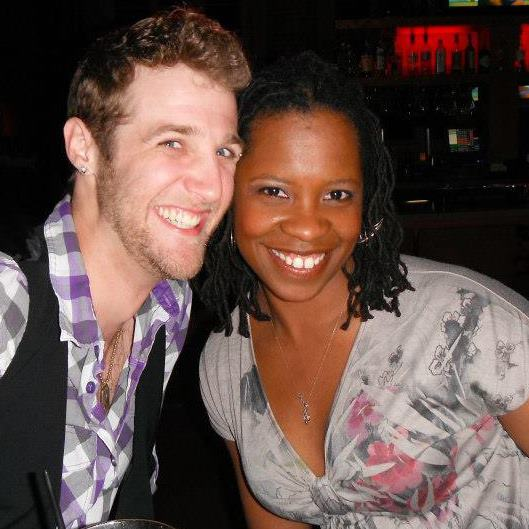 Eric P. Boudreaux and Yolanda London enjoy some time away from the theater. (From Yolanda's Facebook page.)