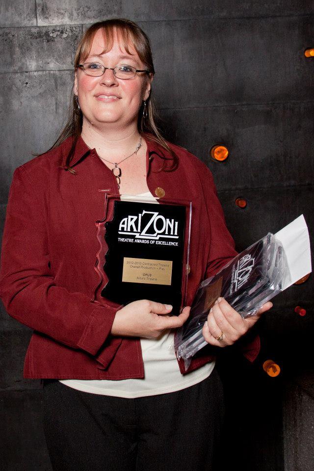 Erica McKibben Black, Managing Director, Actors Theatre.