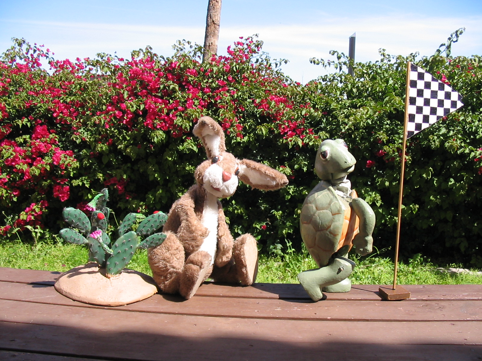The Great Arizona Puppet Theatre provides entertainment for all ages.