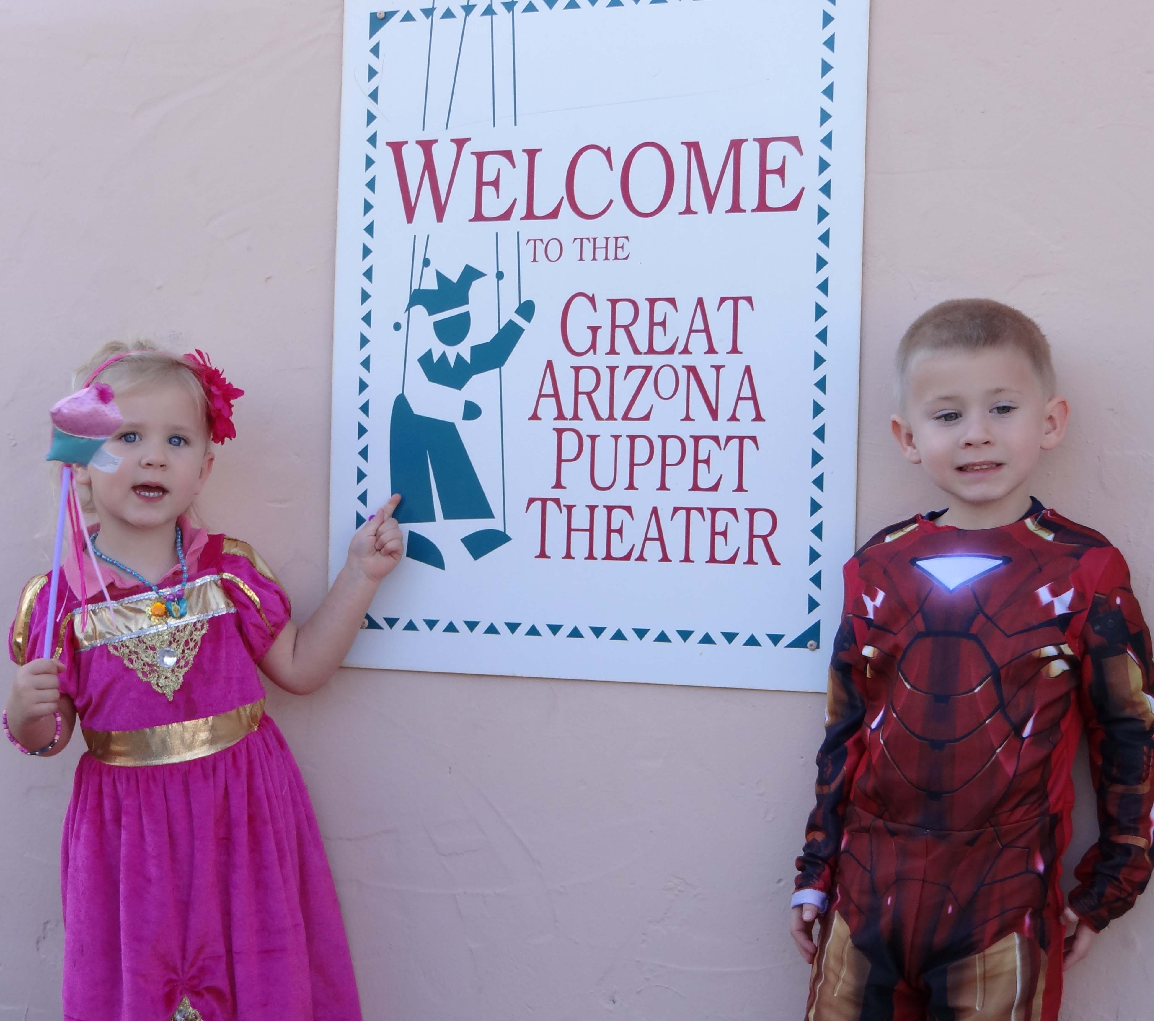 Sarah and Jeremiah Roland visit the Great Arizona Puppet Theater.