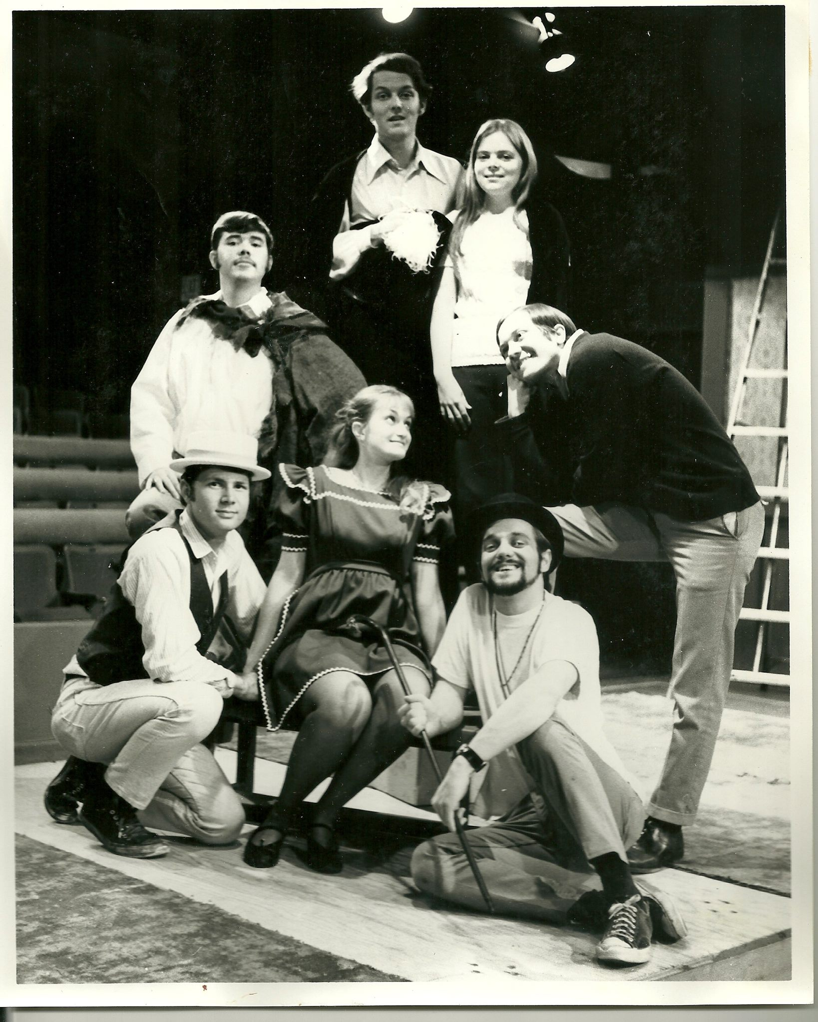 Here's another photograph from 'The Fantasticks.'