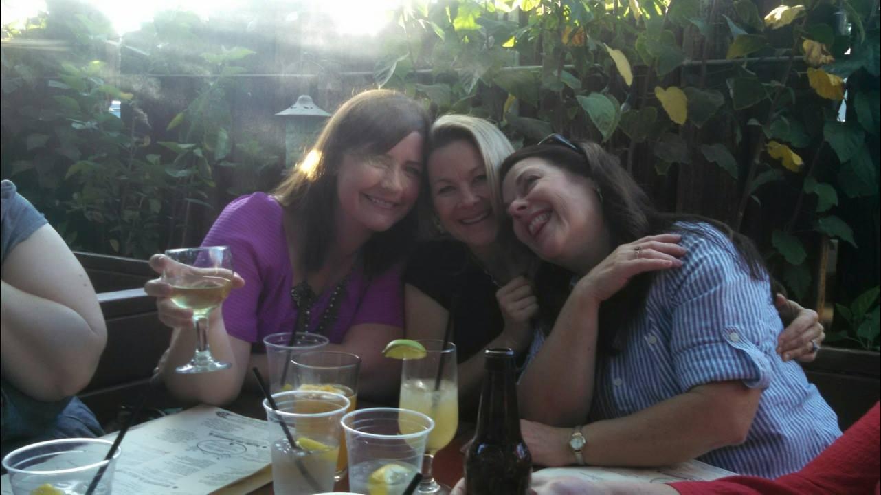Patio blitz - Jenna Forbess, Jodie Weiss and Debra K. Stevens