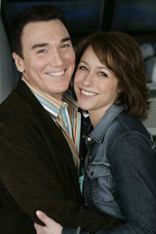 """Patrick Page has been married to Paige Davis, star of cable television's """"Trading Places,"""" since 2001."""